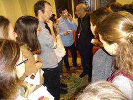 Trobada amb el cardenal Omella a l'OEP